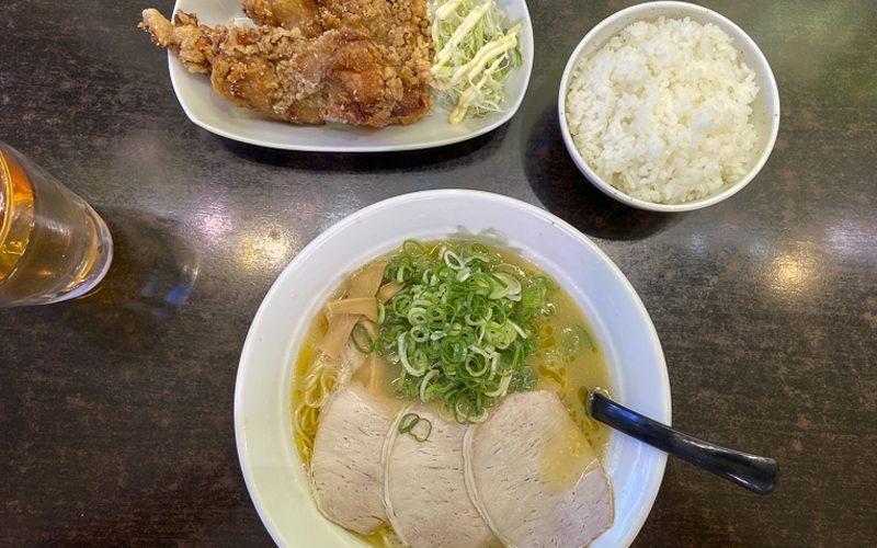 がったぼうず【長野県松本市】鶏の旨味たっぷりラーメンと唐揚げ
