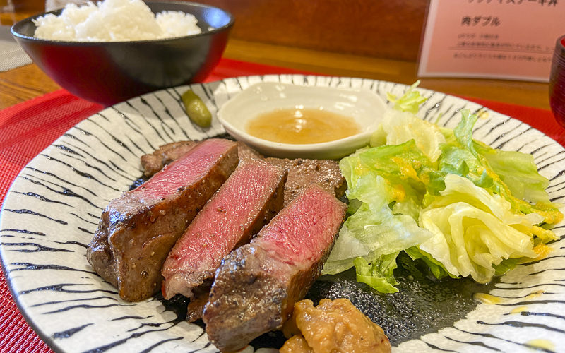 ステーキ蒼天【長野県佐久市】リーズナブルだけど最上級肉を味わえる
