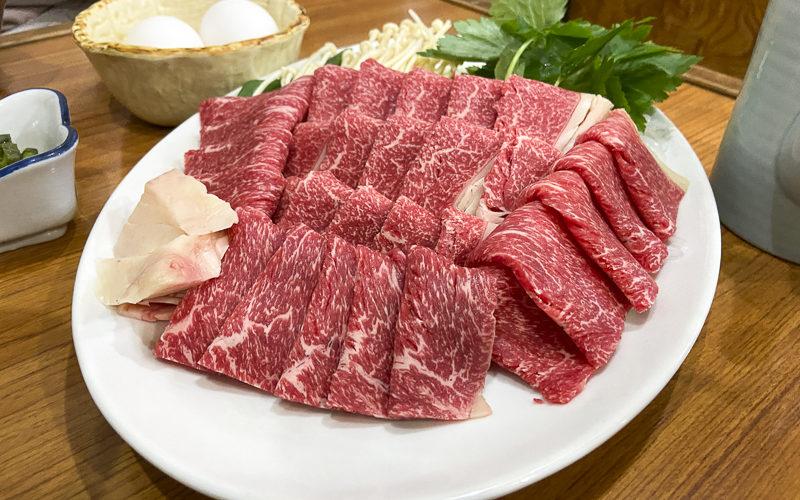 ミートたつみ【長野県諏訪市】馬肉すき焼きが食べられる隠れた名店
